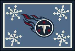 Tennessee Titans NFL Holiday Area Rugs and Mats