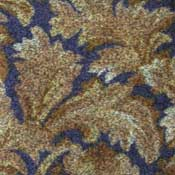 Printed Carpet Paladium Rich Blue