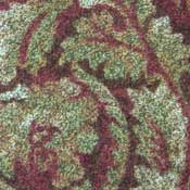 Printed Carpet Paladium Sparkling Burgandy