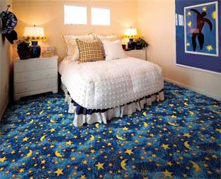 Stars & Moons Printed Carpet