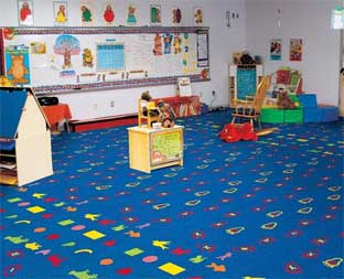 Teaching Tracks Printed Carpet