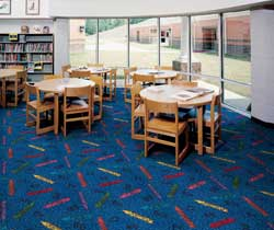 Crayons Kid Carpet Tiles Modular Carpet Tiles