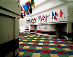 Pinwheel Kid Carpet Tiles Modular Carpet Tiles
