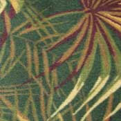 Printed Carpet West Palm Palmetto Green