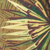 Printed Carpet West Palm Tiki Tan