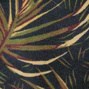 Printed Carpet West Palm Tropic Midnight