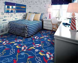 Yacht Club Printed Carpet