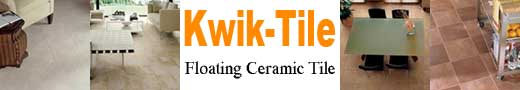 Kwik-Tile Ceramic Flooring Banner