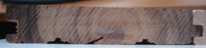 Three Quarter Inch Thick Hardwood 3 1/4""
