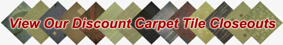 Wholesale Discount Carpet Tile Clearance Closeout Sale
