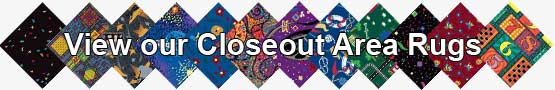 Closeout Area Rugs
