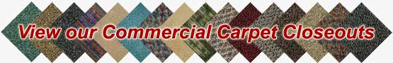 Commercial Carpet Closeouts