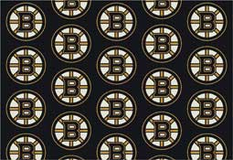 Boston Bruins NHL Area Rugs and Mats