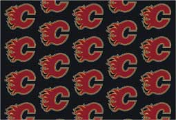 Calgary Flames NHL Area Rugs and Mats
