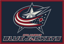 Columbus Blue Jackets NHL Area Rugs and Mats