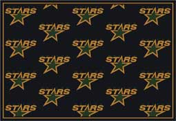 Dallas Stars NHL Area Rugs and Mats