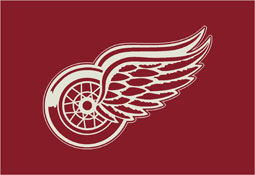 Detroit Red Wings NHL Area Rugs and Mats