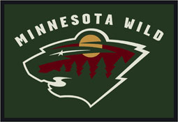 Minnesota Wild NHL Area Rugs and Mats