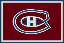 Montreal Canadians NHL Area Rugs and Mats