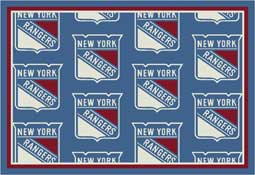 New York Rangers NHL Area Rugs and Mats