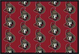 Ottowa Senators NHL Area Rugs and Mats