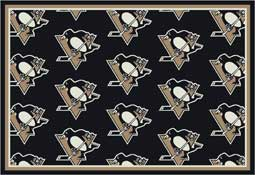 Pittsburgh Penguins NHL Area Rugs and Mats