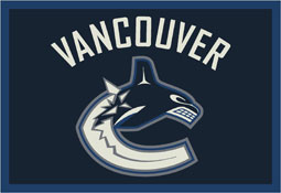 Vancouver Canucks NHL Area Rugs and Mats