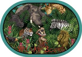 Wild About Books - Oval