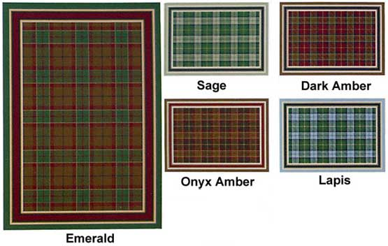 Milliken Area Rugs Innovation Collection Magee Tartan