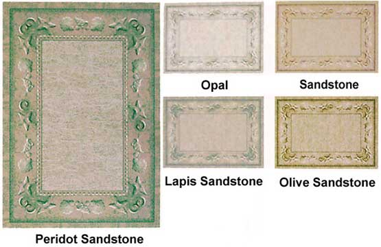 Milliken Area Rugs Innovation Collection Sand Castles