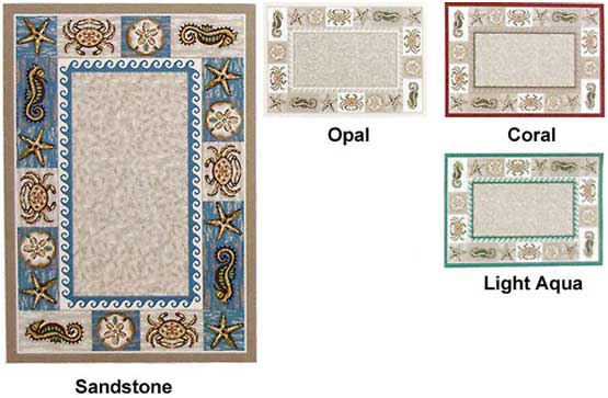 Milliken Area Rugs Innovation Collection Sea Life