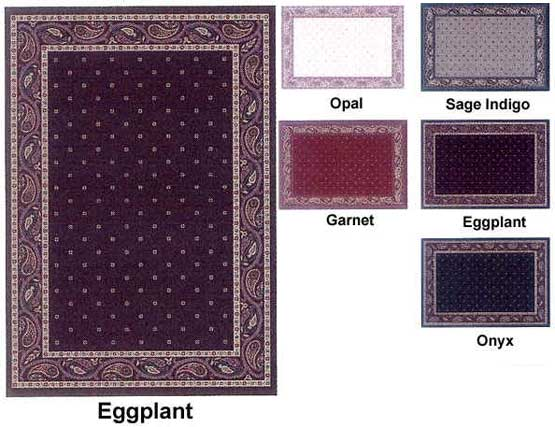 Milliken Area Rugs Innovation Collection Paisley