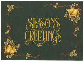 Seasons Greetings Holiday Rug