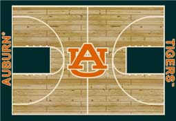 Auburn University 1030 Basketball Rug