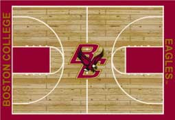 Boston College Basketball Sports Rug