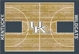 University of Kentucky Basketball Sports Rug