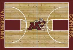 University of Minnesota Basketball Sports Rug