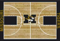 University of Missouri Basketball Sports Rug