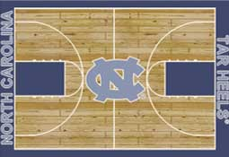 University of North Carolina Basketball Sports Rug