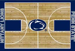 Penn State University Nittany Lions Football Field Area Rug