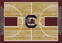 University of South Carolina Basketball Sports Rug