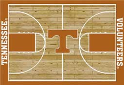 University Tennessee Basketball Sports Rug