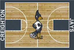 Creighton University Basketball Sports Rug