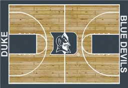 Duke University Basketball Sports Rug