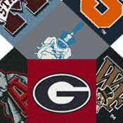 College Carpet Area Rugs Collegiate Area Rugs Mats and Broadloom