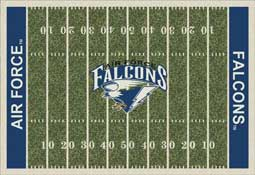 Air Force University 1008 Football Rug