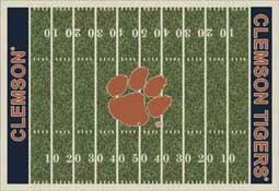 Clemson University Tigers Collegiate Rugs