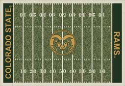 Colorado State University Rams Collegiate Rugs