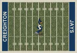 Creighton University Bluejays Collegiate Rugs