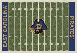 East Carolina University Pirates Collegiate Rugs